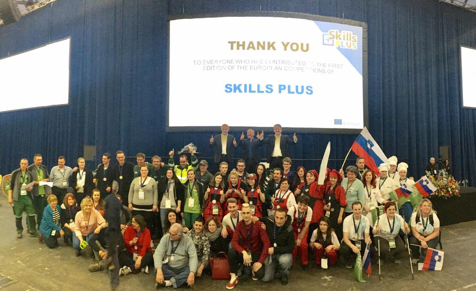 First European Skills Plus Competition RAI Amsterdam